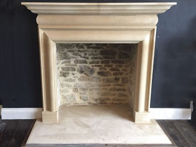 Bath Stone Bolection Fireplace
