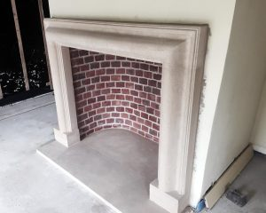 Bolection Fireplace and Hearth